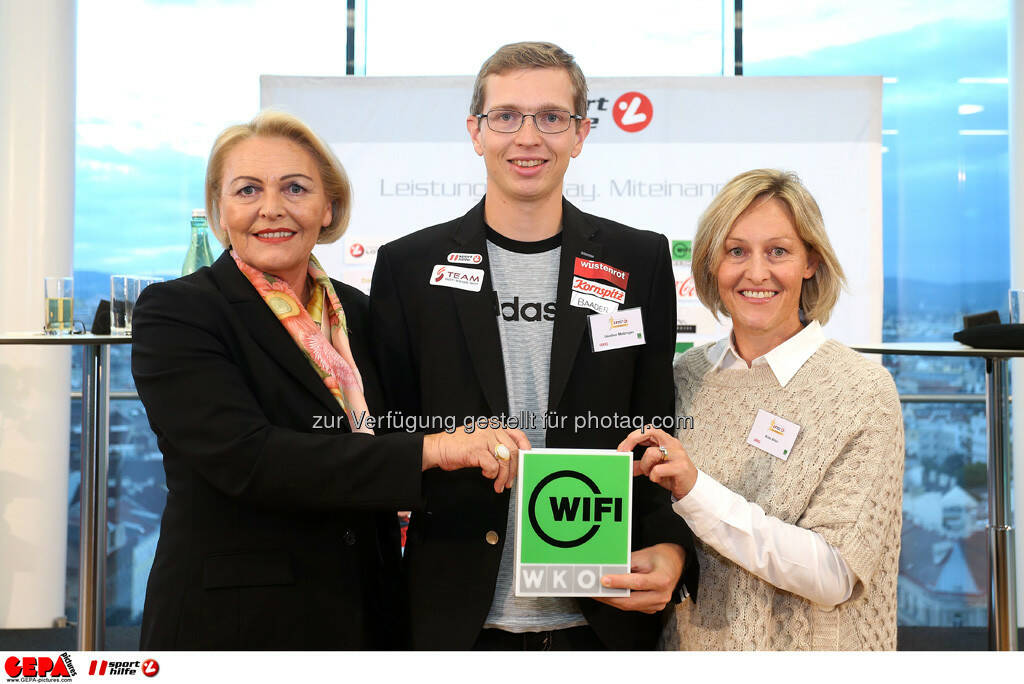 Anna Maria Hochhauser (WKO), Guenter Matzinger (AUT) und Kate Allen. (Foto: GEPA pictures/ Mario Kneisl) (25.09.2013)