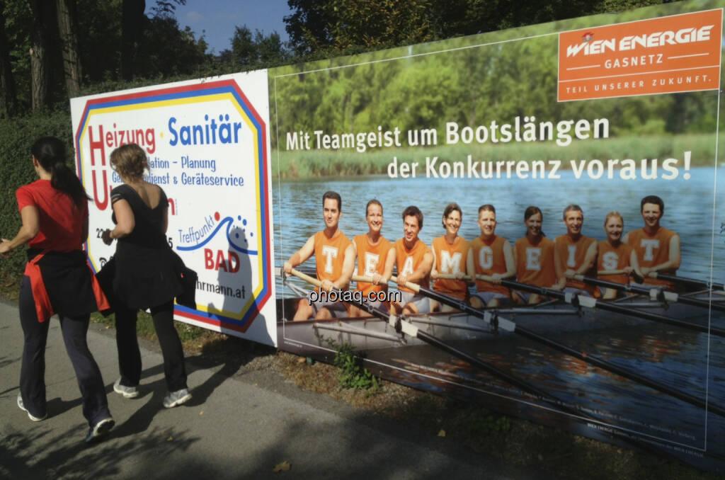 Laufen, Rudern, Wien Energie (28.09.2013)