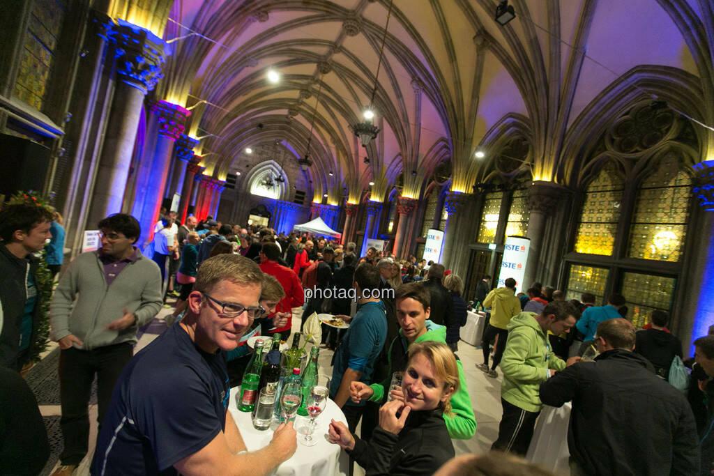 Erste Bank Vienna night run 2013, VIP Bereich, Rathaus, © finanzmartkfoto.at/Martina Draper/Josef Chladek (01.10.2013)