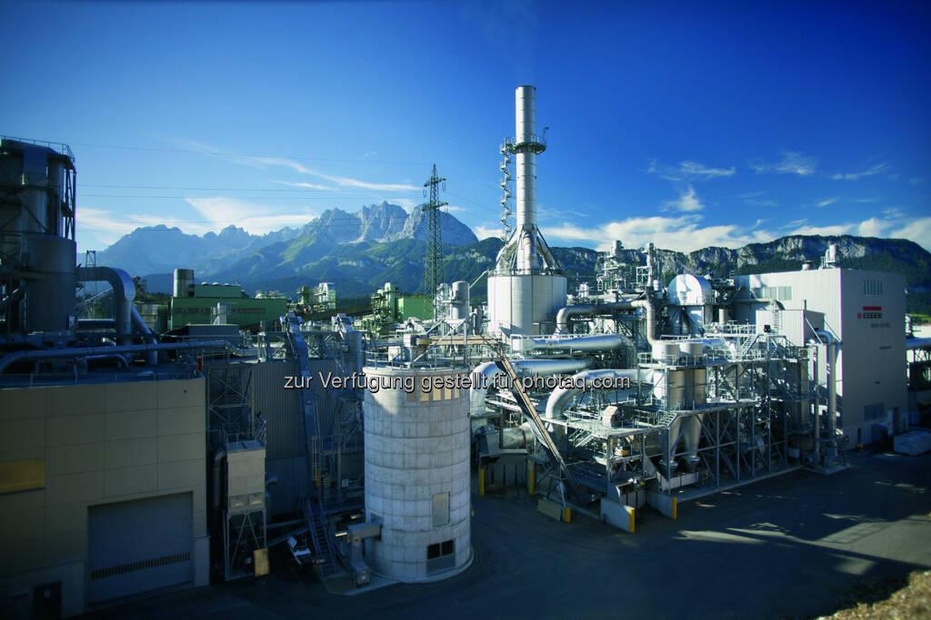 Egger Holzwerkstoffe: Panoramaaufnahme-Kraftwerk SJO, mehr unter http://www.egger.com/DE_de/index.htm (04.10.2013)