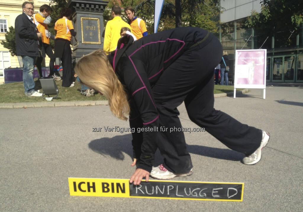 Start, ich bin runplugged (05.10.2013)