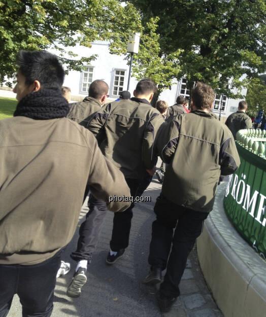 Das Bundesheer läuft (05.10.2013)