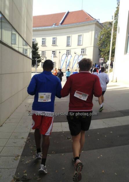 Laufen im Alten AKH (05.10.2013)