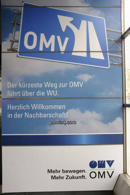 OMV, Der kürzeste Weg zur OMV führt über die WU (06.10.2013)