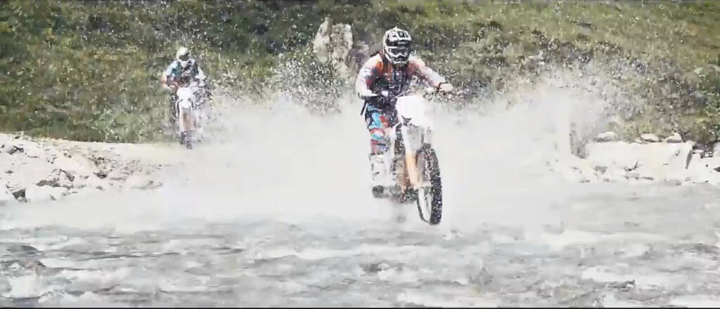 KTM Freeride Education, Bike, Wasser (08.10.2013)
