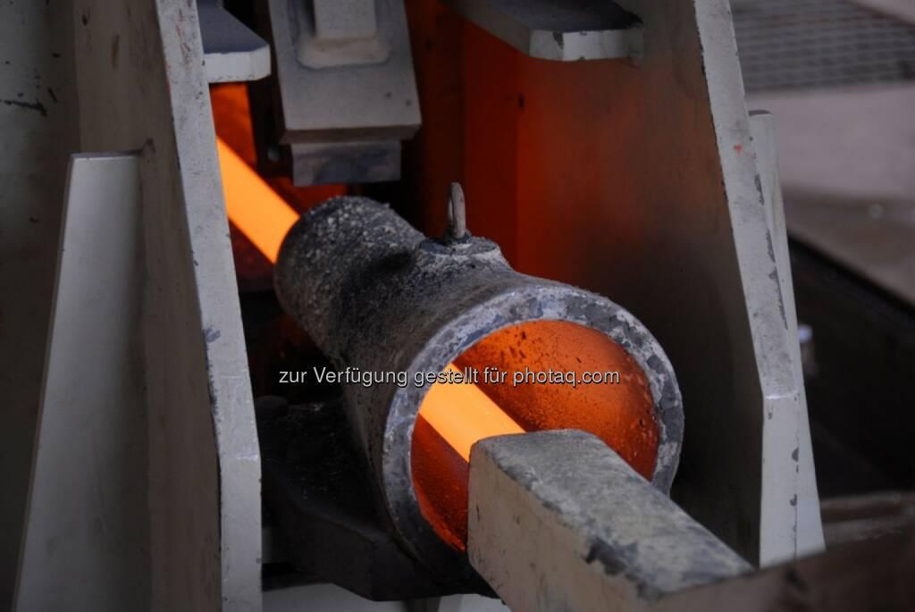 Der indische Stahlproduzent Kalika Steel Alloys Pvt. Ltd. (Kalika Steel) hat Siemens Metals Technologies den Auftrag erteilt, ein Walzwerk für Bewehrungsstähle zu liefern. (Bild: Siemens)  (14.10.2013)