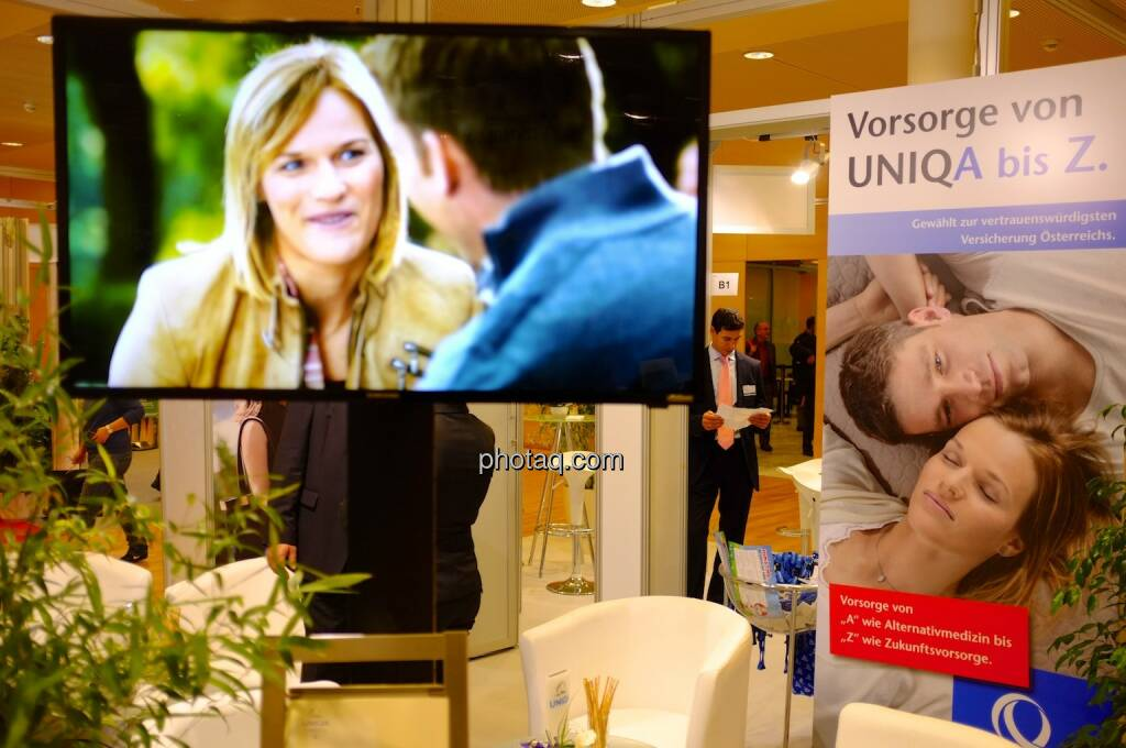 Uniqa, Marlies Schild, Benni Raich (17.10.2013)
