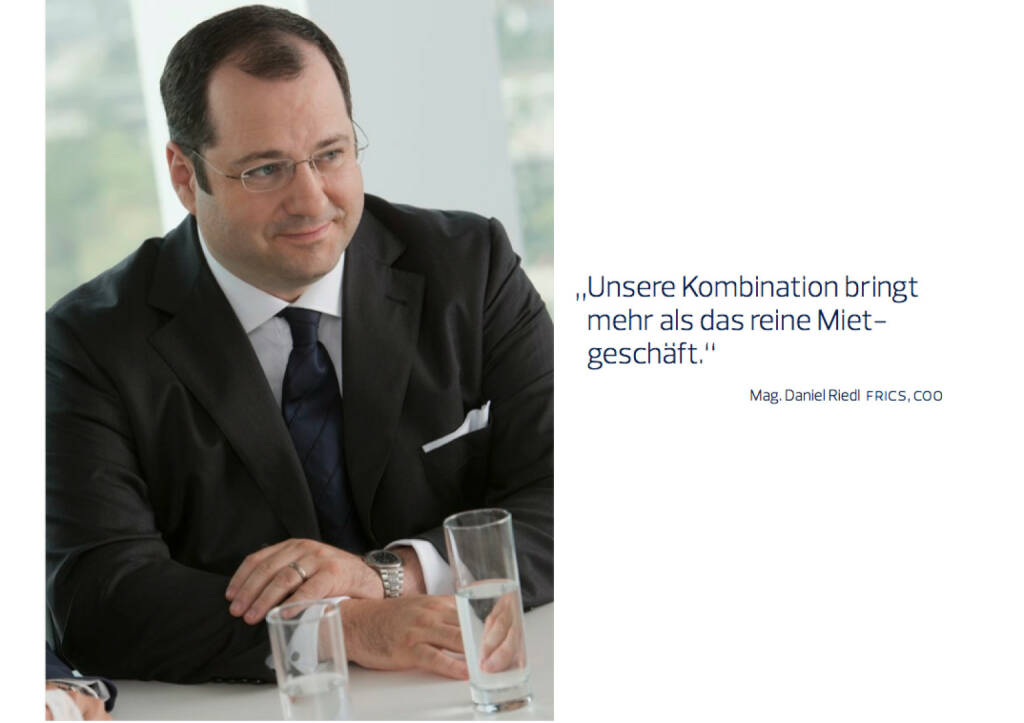 Daniel Riedl, COO, © Immofinanz (18.10.2013)