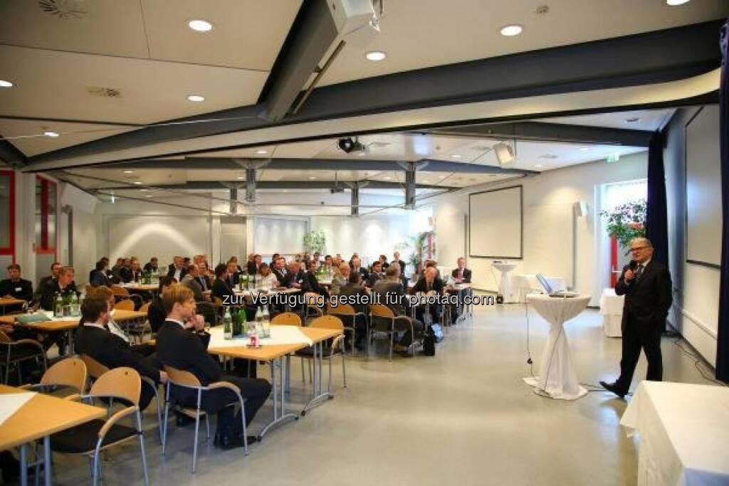 """Synergieplattform 2013: Internationale Forscher des voestalpine-Konzerns trafen sich zum Thema """"Energie- und Ressourceneffizienz"""" in Donawitz. http://bit.ly/GTLJzl  (19.10.2013)"""