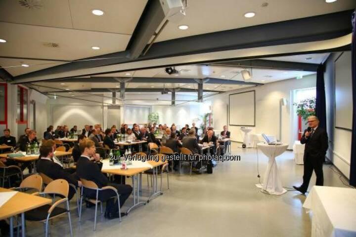 """Synergieplattform 2013: Internationale Forscher des voestalpine-Konzerns trafen sich zum Thema """"Energie- und Ressourceneffizienz"""" in Donawitz. http://bit.ly/GTLJzl"""