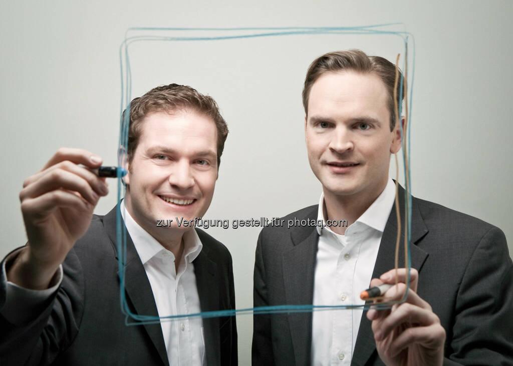 Reinhold Baudisch, Michael Doberer vom Vergleichsportal durchblicker.at (c) durchblicker.at (21.10.2013)