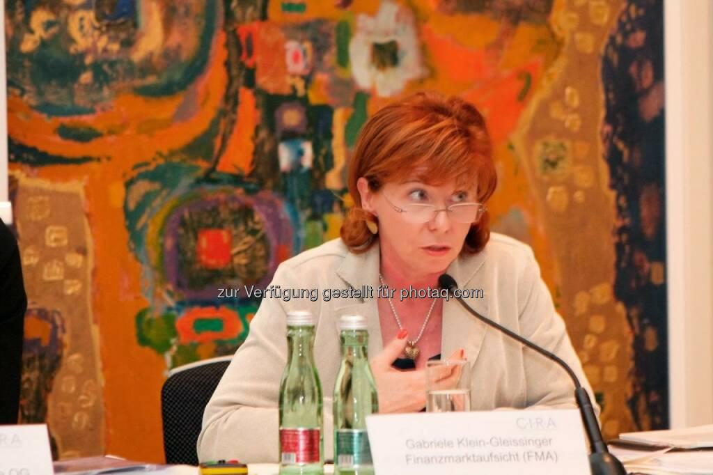 Gabriele Klein-Gleissinger (FMA) C.I.R.A.-Jahreskonferenz 2013, © C.I.R.A. (22.10.2013)