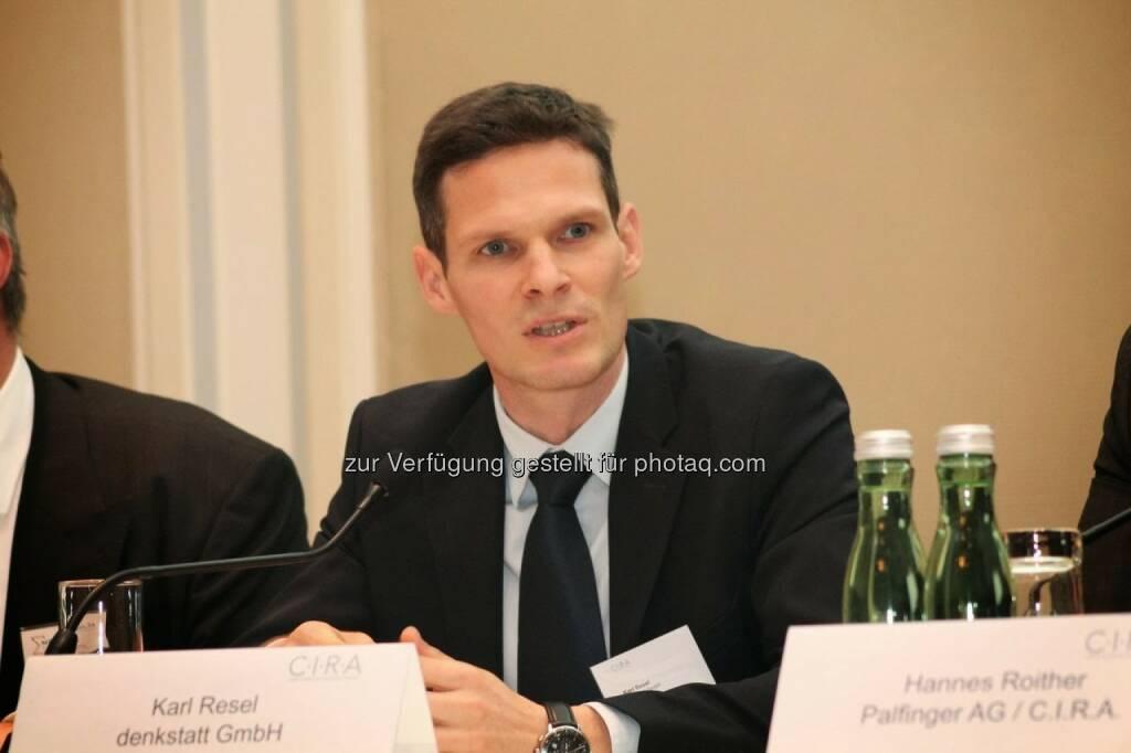 Karl Resel (denkstatt) C.I.R.A.-Jahreskonferenz 2013, © C.I.R.A. (22.10.2013)