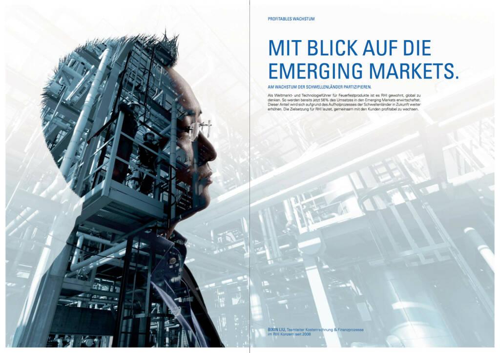 Mit Blick auf die Emerging Markets, © RHI (24.10.2013)