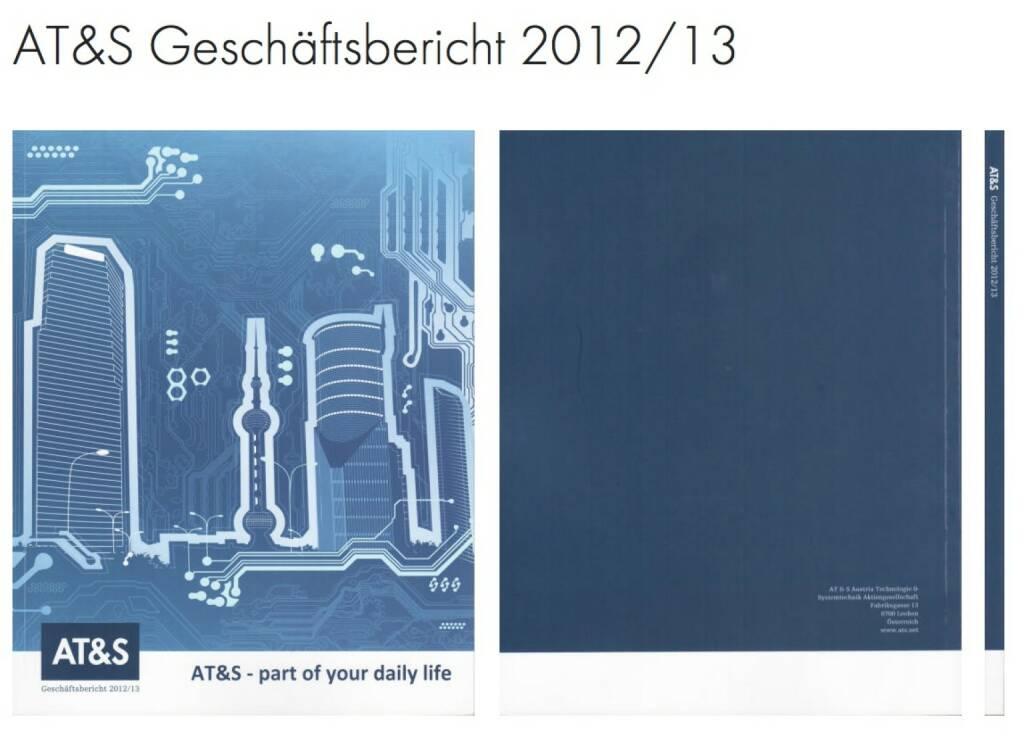 AT&S, ATS Geschäftsbericht 2012/13 http://josefchladek.com/companyreport/ats_geschaftsbericht_201213#image-8, © AT&S (26.10.2013)
