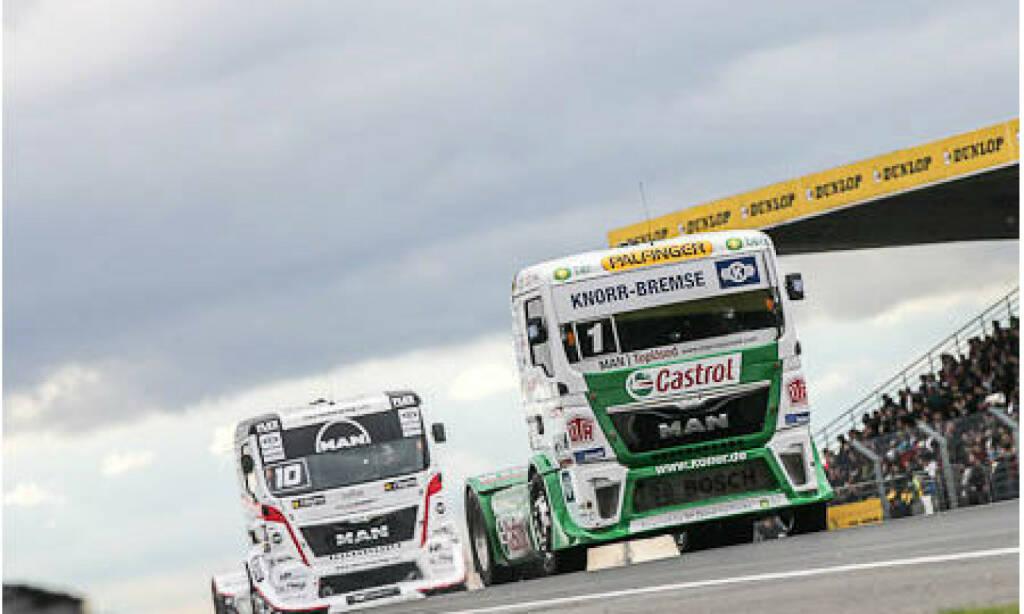 Palfinger gratuliert: Jochen Hahn ist neuer Europameister des FIA European Truck Racing Championship, der dritte Titel in Folge. Als langjähriger Servicepartner freuen wir uns natürlich ganz besonders über diese herausragende sportliche Leistung und gratulieren Jochen zum verdienten Sieg! (27.10.2013)
