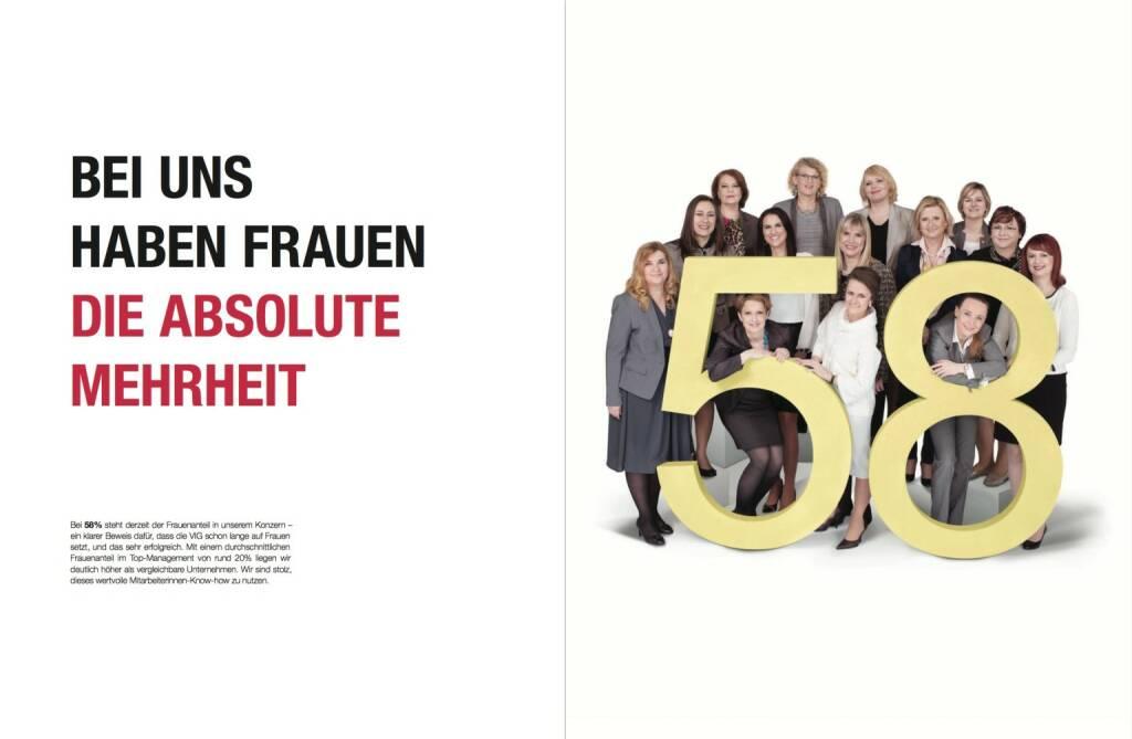 Bei uns haben Frauen absolute Mehrheit, © VIG (28.10.2013)