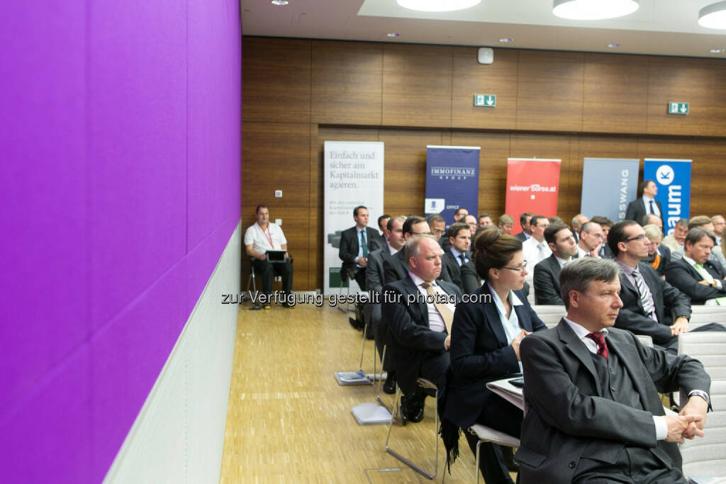Heinrich Traumüller (Büro des Kapitalmarktbeauftragten, BMF), Austrian Equity Day 2013, © Martina Draper für das Aktienforum (30.10.2013)