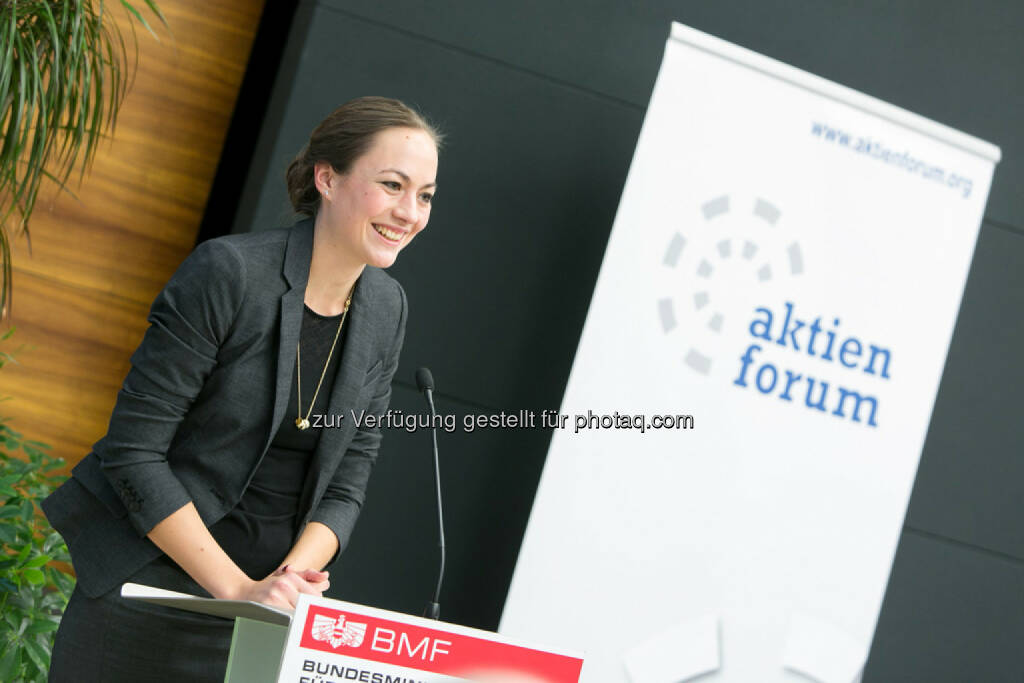Ulrike Haidenthaller, GF Aktienforum, © Martina Draper für das Aktienforum (30.10.2013)