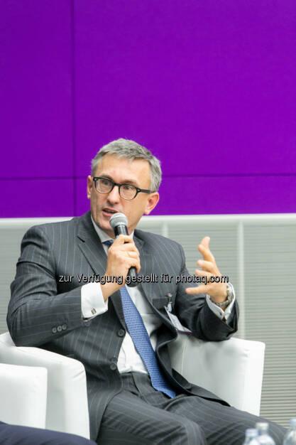 Robert Ottel, CFO voestalpine AG, © Martina Draper für das Aktienforum (30.10.2013)