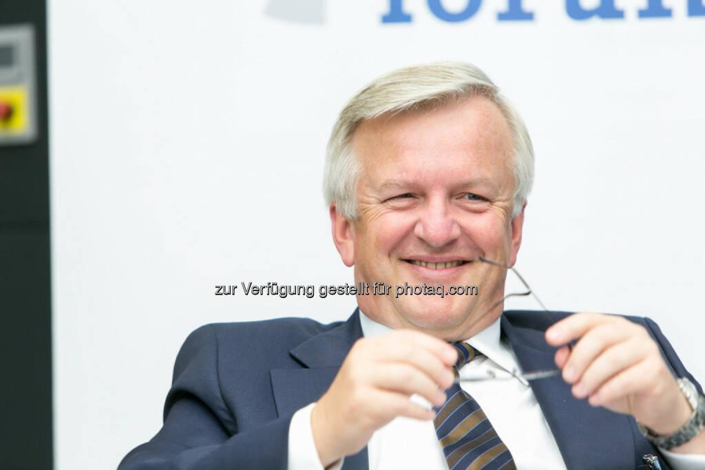 Rudolf Kemler, Vorstand Industrieholding AG, © Martina Draper für das Aktienforum (30.10.2013)