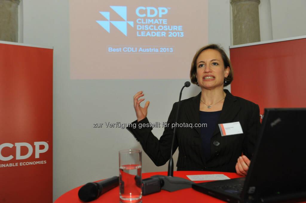 CDP Österreich Jahreskonferenz 2013, © CDP, Fotograf: Philipp Hutter. (11.11.2013)