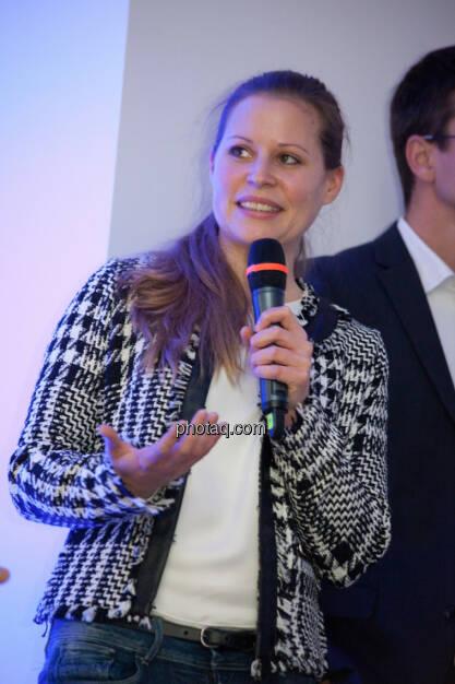 Katharina Klausberger, Geschäftsführerin Finderly GmbH / Shpock App , © finanzmarktfoto.at/Michi Mejta (13.11.2013)