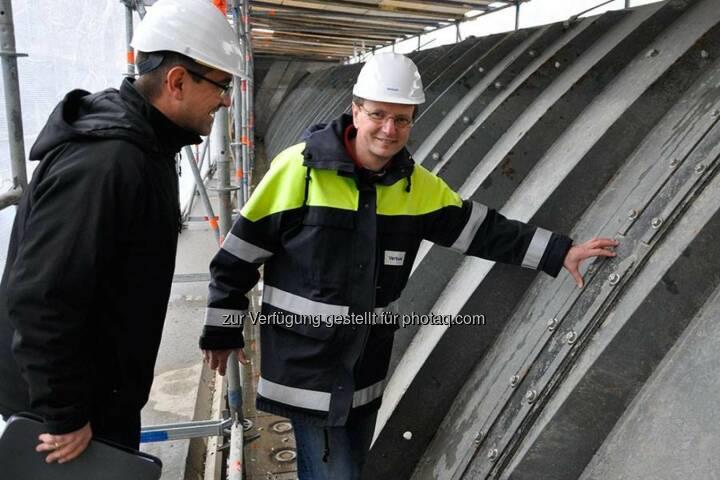 Verbund: Das kleine, feine Stadtkraftwerk Nußdorf am Donaukanal erhält dieser Tage eine Großrevision, die notwendig, aber nicht so ganz einfach ist. http://goo.gl/bNj6fN