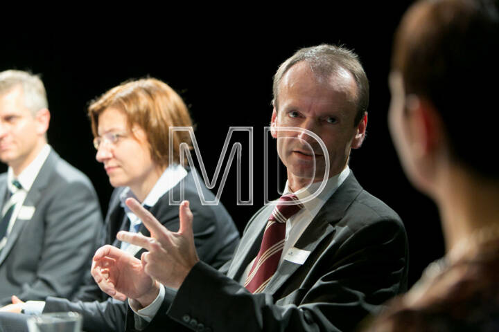 René Stadler, Category Head Energy, Mondi AG, Susanna Zapreva, Geschäftsführerin Wien Energie GmbH, Christian Plas, Geschäftsführer Denkstatt GmbH, Cornelia Dankl, Bonus Vorsorgekasse AG