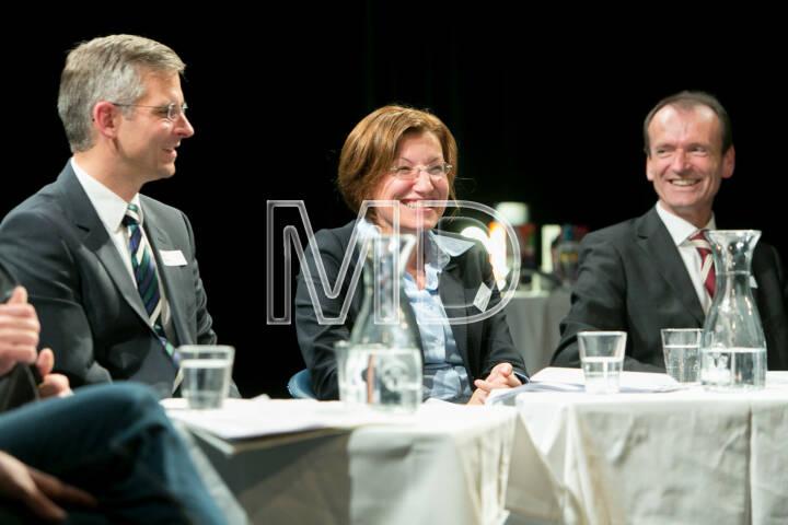 René Stadler, Category Head Energy, Mondi AG, Susanna Zapreva, Geschäftsführerin Wien Energie GmbH, Christian Plas, Geschäftsführer Denkstatt GmbH