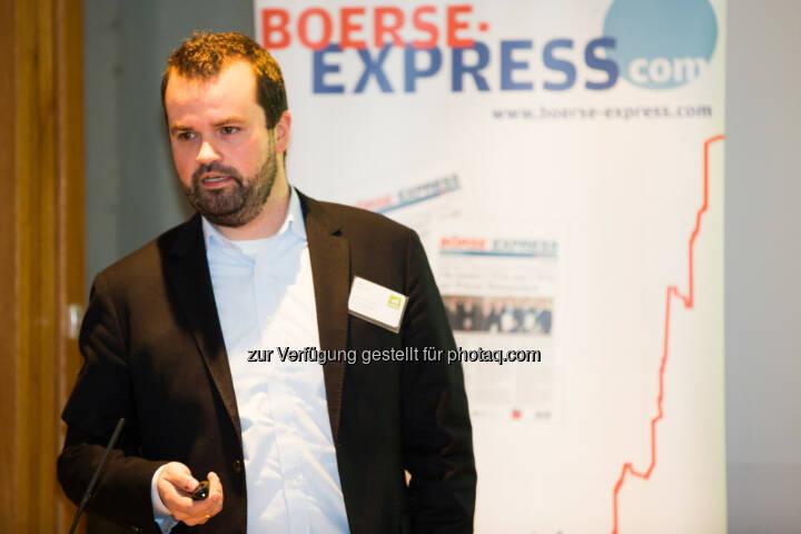 Stefan Greunz (Head of Business Development Wikifolio)