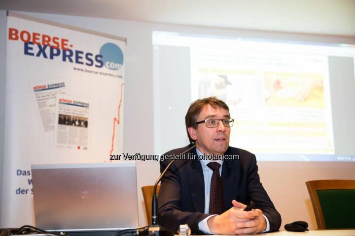 Harald Hagenauer (Investor Relations Österreichische Post AG)