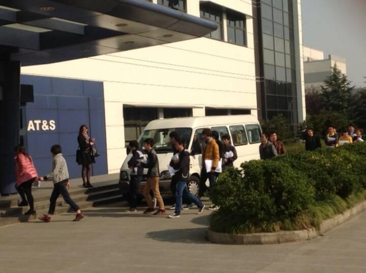PK AT&S in Shanghai