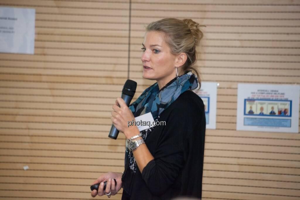 Kerstin Westritschnig, Head of Clinical Development Valneva , © Michaela Mejta für finanzmarktfoto.at (29.11.2013)