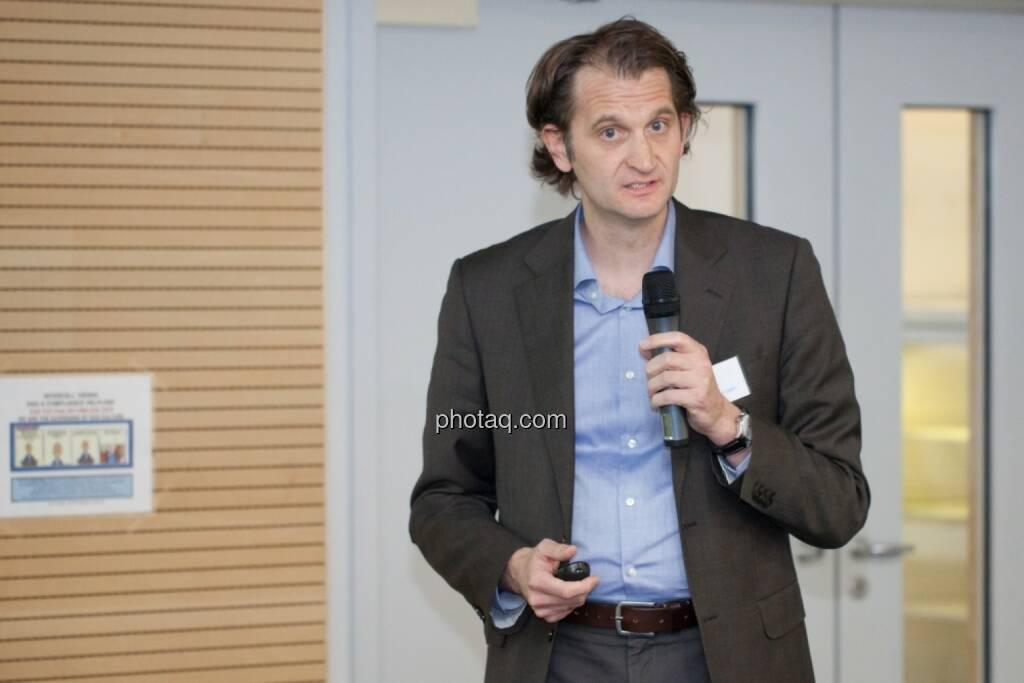 Klaus Schwamborn, Director of Vaccine Research and Discovery Valneva , © Michaela Mejta für finanzmarktfoto.at (29.11.2013)