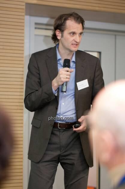 Klaus Schwamborn, Director of Vaccine Research and Discovery Valneva, © Michaela Mejta für finanzmarktfoto.at (29.11.2013)