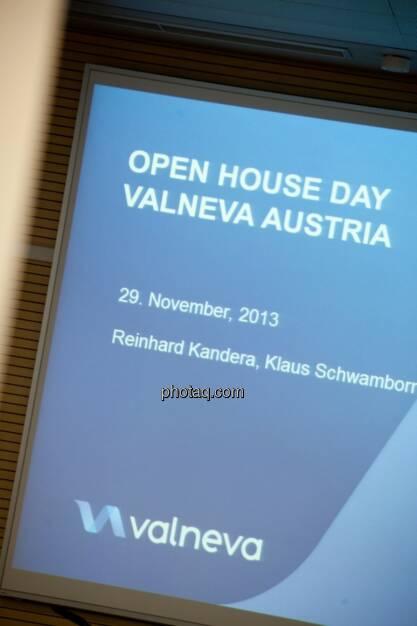 Valneva Open House 2013 , © Michaela Mejta für finanzmarktfoto.at (29.11.2013)