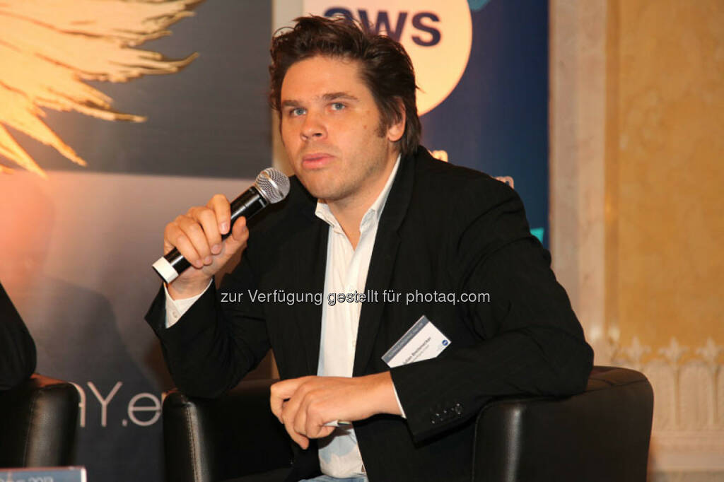 Julian Breitenecker (CEO Media4Equity Invest), © Austria Wirtschaftsservice (01.12.2013)
