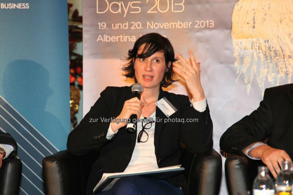 Marie Ringler (Länderdirektorin, Ashoka Österreich), © Austria Wirtschaftsservice (01.12.2013)