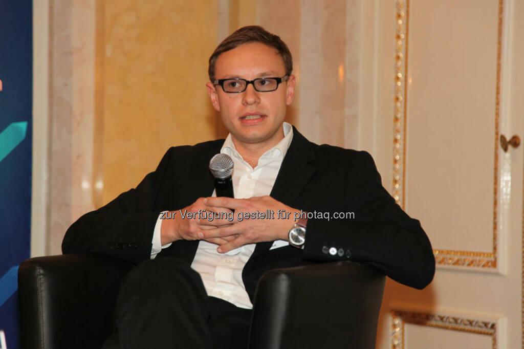 Christoph Holzhaider (Gründer EduPreneurs Austria), © Austria Wirtschaftsservice (01.12.2013)