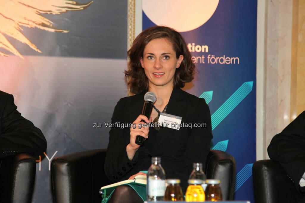 Katharina Norden (Gründerin Three Coins, Global Shaper des Weltwirtschaftsforums Davos), © Austria Wirtschaftsservice (01.12.2013)