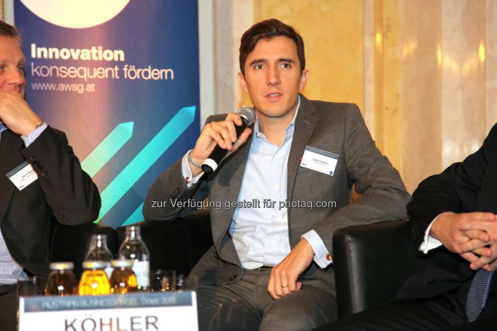 Cédric Köhler (Partner, Creathor Venture), © Austria Wirtschaftsservice (01.12.2013)