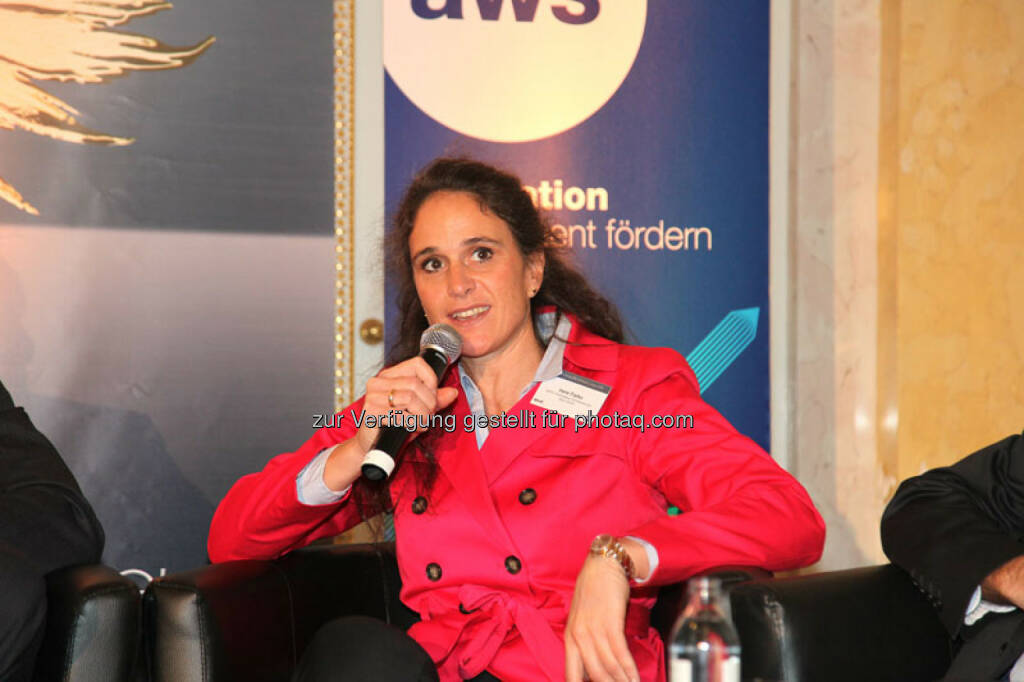 Irene Fialka (CEO INiTS Universitäres Gründerservice Wien GmbH), © Austria Wirtschaftsservice (01.12.2013)