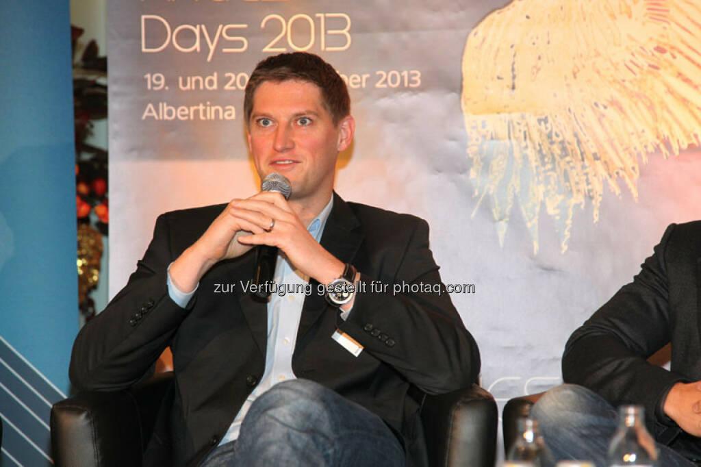 Stefan Kalteis (Co-Gründer und CEO payolution), © Austria Wirtschaftsservice (01.12.2013)