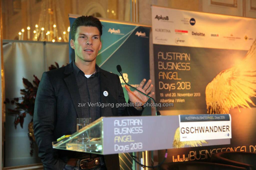 Keynote Gschwandtner, © Austria Wirtschaftsservice (01.12.2013)