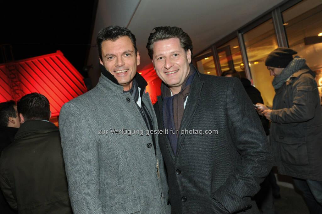 Werner Schediwy, Gerald Enderle (Bild: DocLX Holding) (03.12.2013)