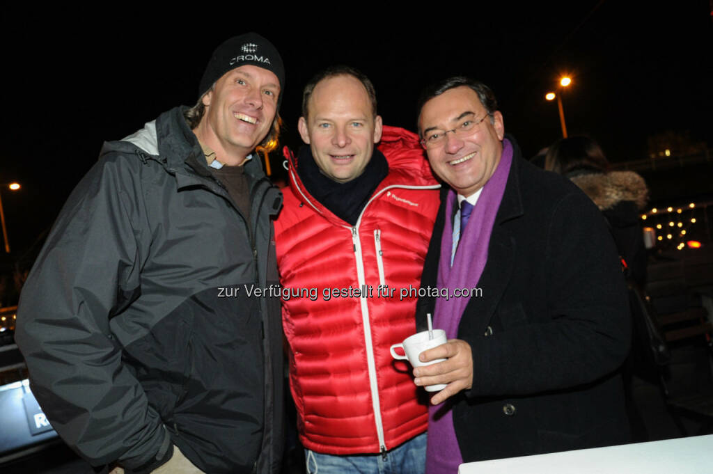 Oliver Stamm, Alexander Knechtsberger, Heinz Stiastny (Bild: DocLX Holding) (03.12.2013)