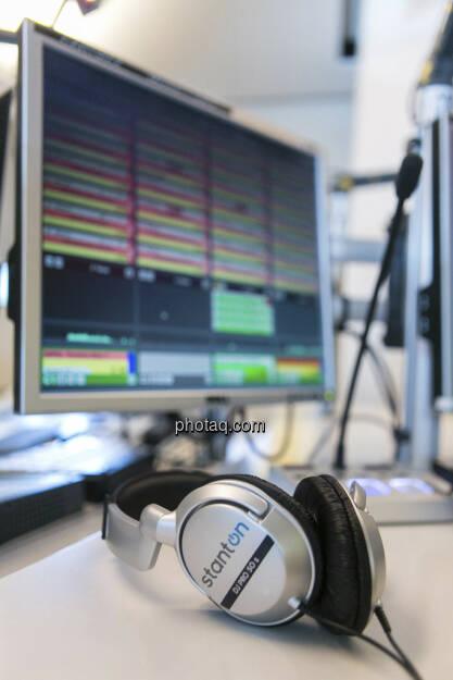 FM4 Kopfhörer, © Martina Draper (15.12.2012)