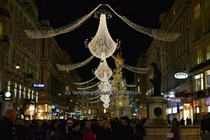 Graben, Wien, Lichter im Advent, www.fotomoldan.at