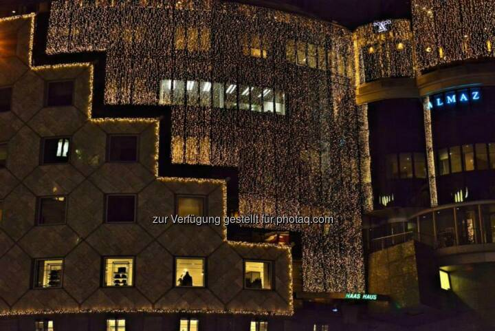 Haas Haus, Wien, Lichter im Advent, www.fotomoldan.at